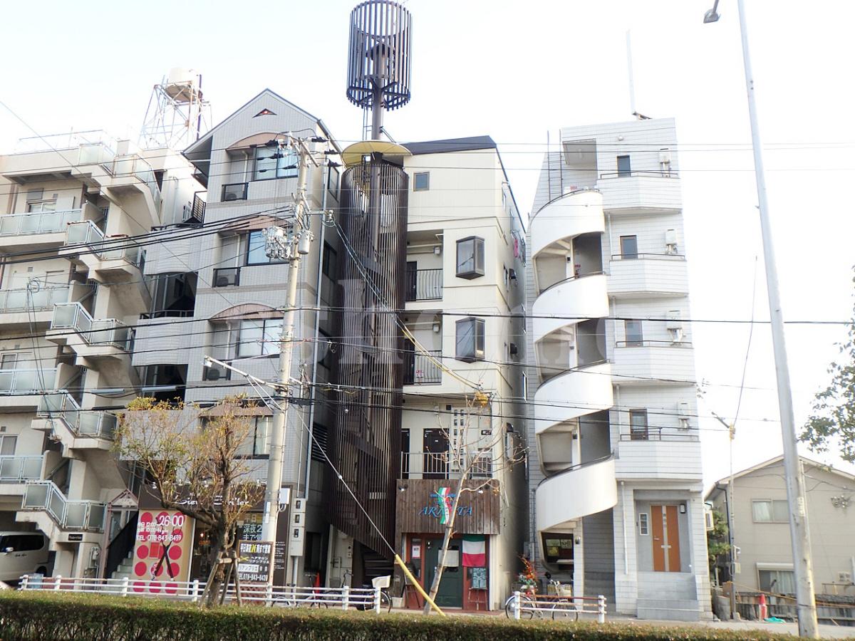 物件番号: 1123106990 フレンドマンション 神戸市灘区永手町1丁目 1DK マンション 外観写真