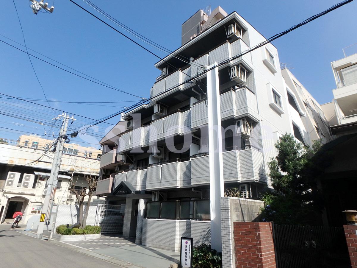 物件番号: 1123103260 ジョイフル御影V 神戸市東灘区御影本町6丁目 1R マンション 外観写真