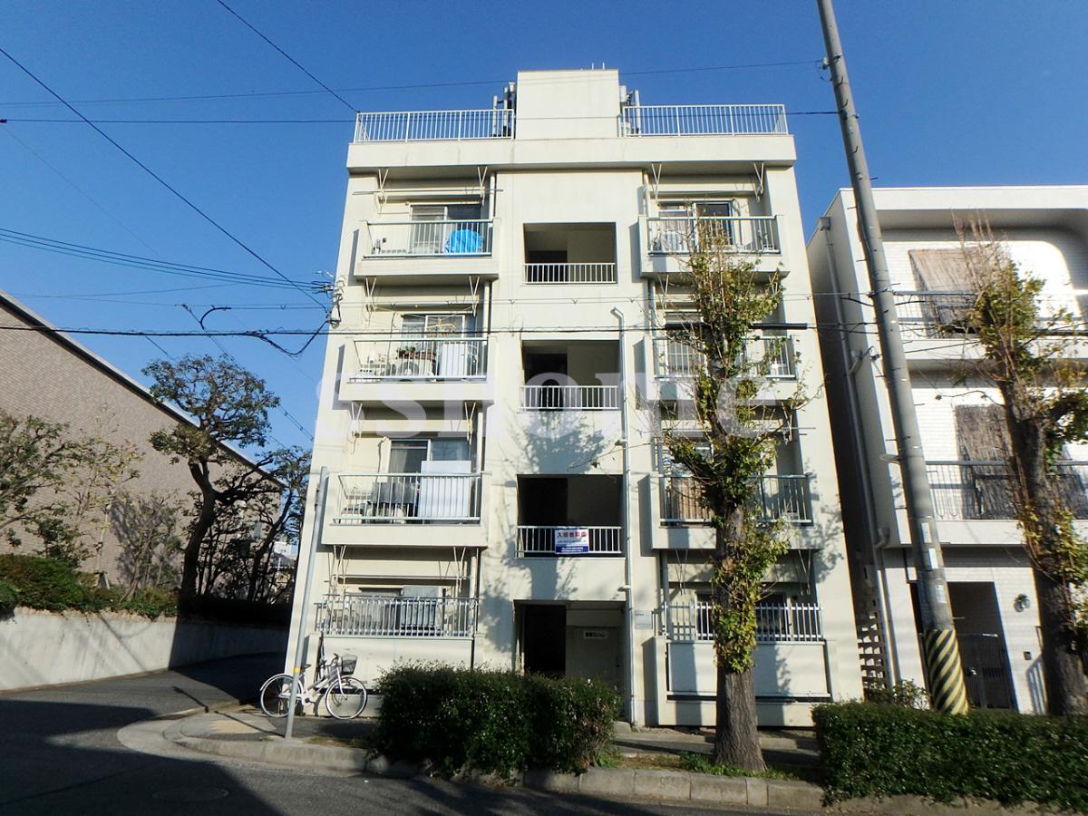 物件番号: 1123106337 新堂マンション 神戸市東灘区住吉本町2丁目 2K マンション 外観写真