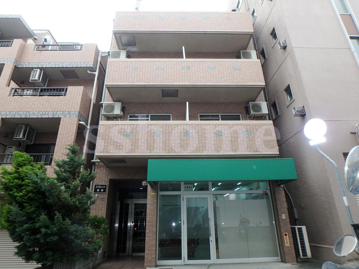 物件番号: 1123103516 エクセレント坂田  神戸市灘区都通5丁目 1K マンション 外観画像