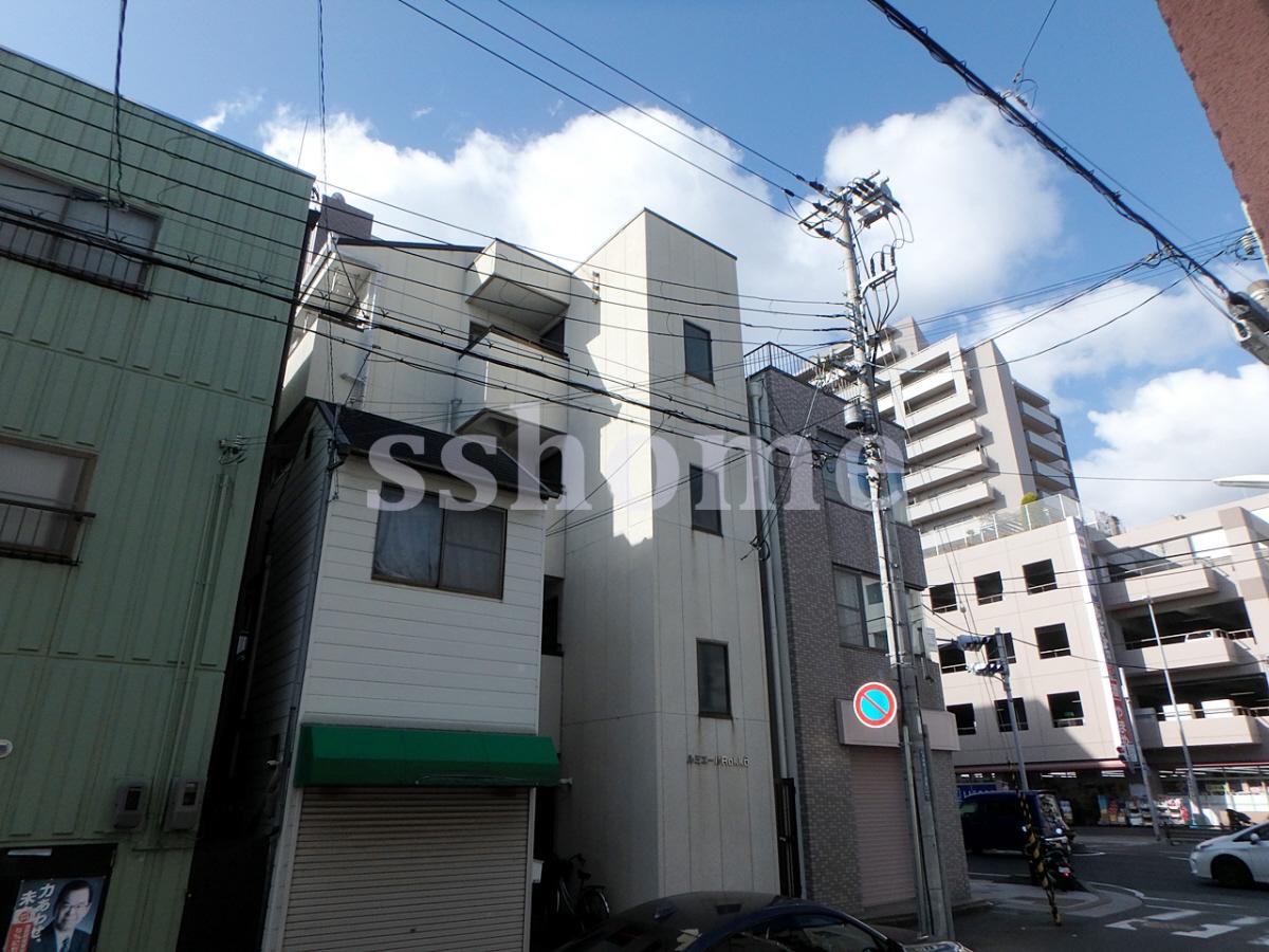 物件番号: 1123103588 ルミエールROKKO 神戸市灘区友田町3丁目 1K マンション 外観写真