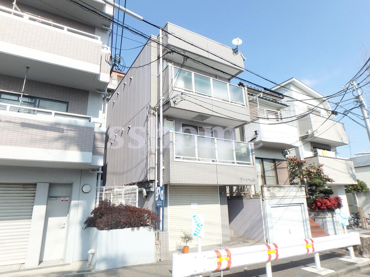 物件番号: 1123104235 ティ・オー上野 神戸市灘区上野通4丁目 1R マンション 外観写真