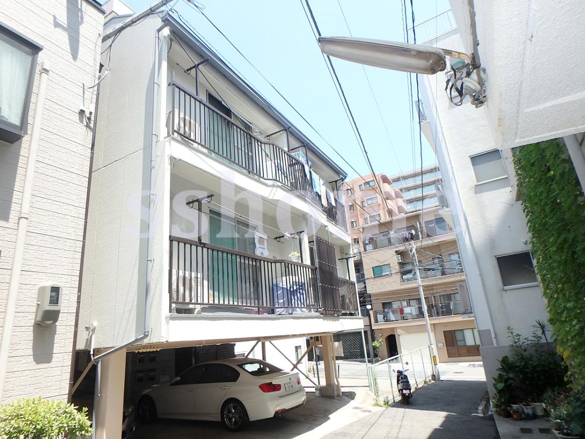 物件番号: 1123106375 といしマンション  神戸市灘区倉石通4丁目 1R マンション 外観画像