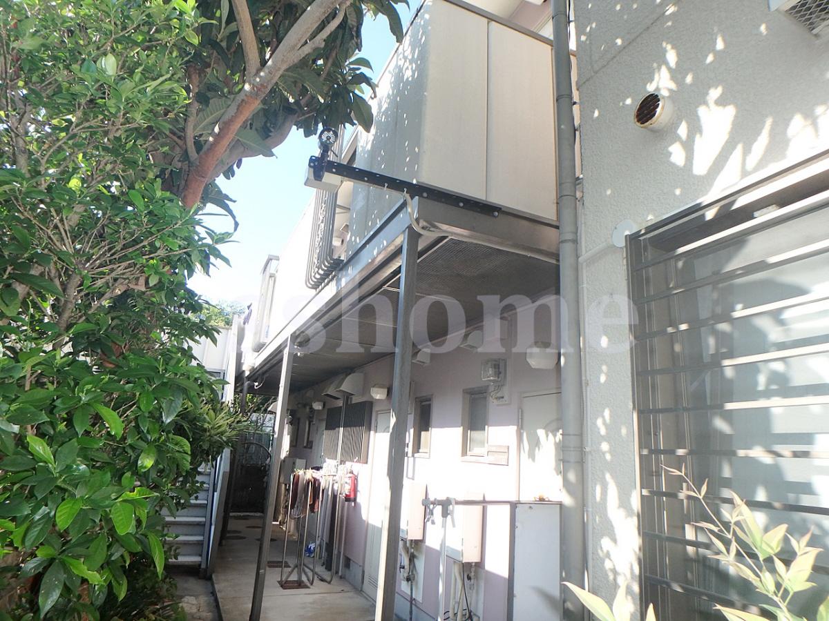 物件番号: 1123106690 カサフローラ  神戸市東灘区岡本3丁目 1K タウンハウス 外観画像